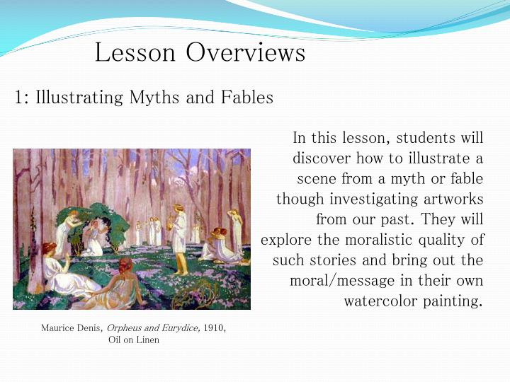 Lesson Overviews