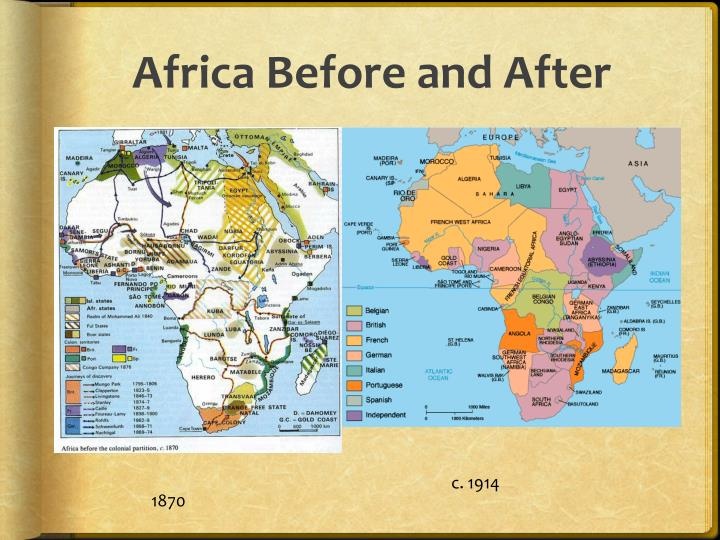 Africa Before and After