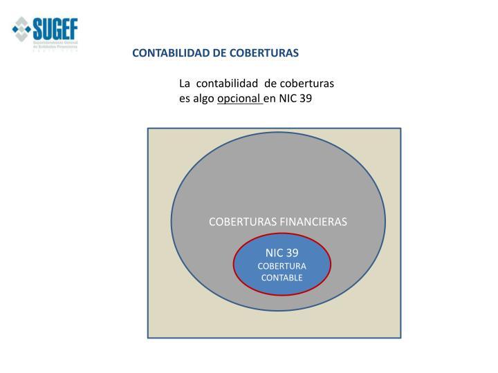 CONTABILIDAD DE COBERTURAS