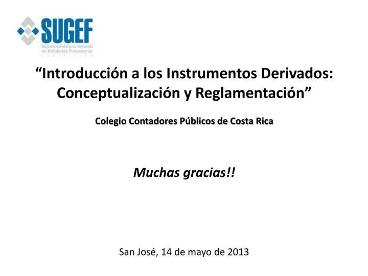 """""""Introducción a los Instrumentos Derivados:"""