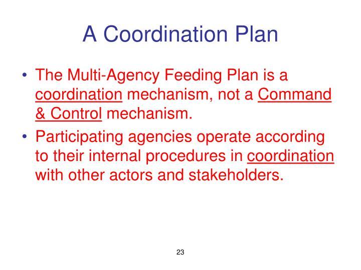 A Coordination Plan