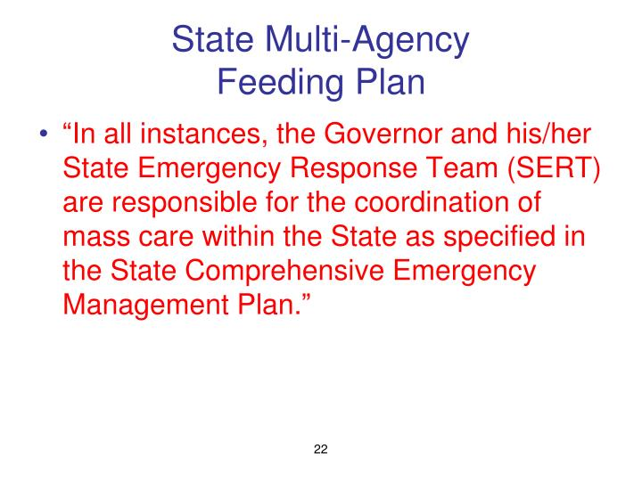 State Multi-Agency