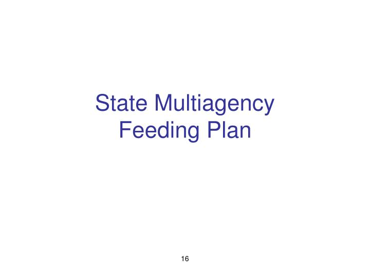 State Multiagency