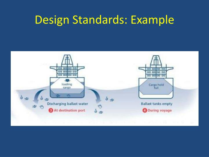 Design Standards: Example