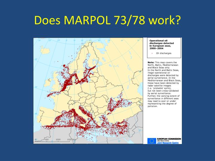 Does MARPOL 73/78 work?