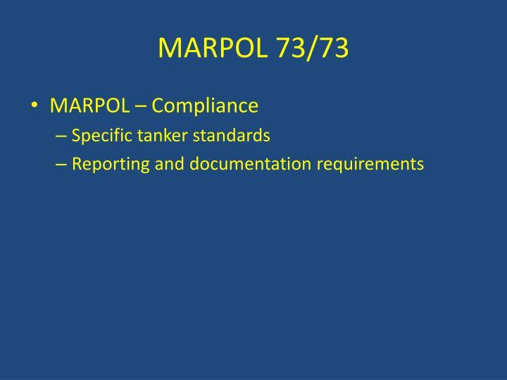 MARPOL 73/73