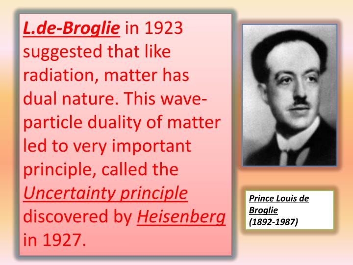 L.de-Broglie