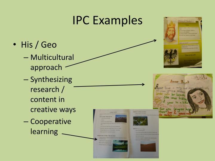 IPC Examples