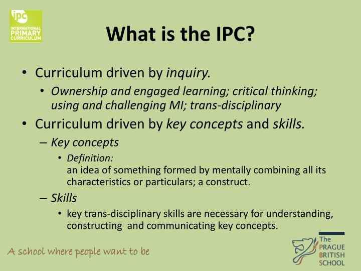 What is the IPC?