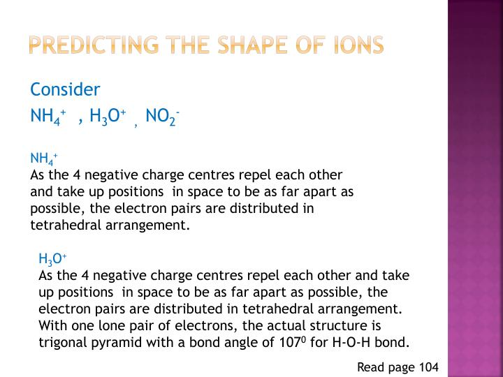Predicting the shape of ions