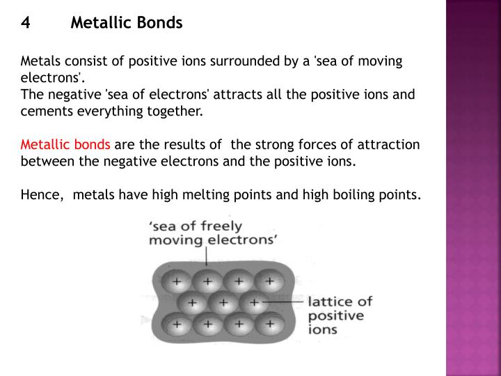 4Metallic Bonds