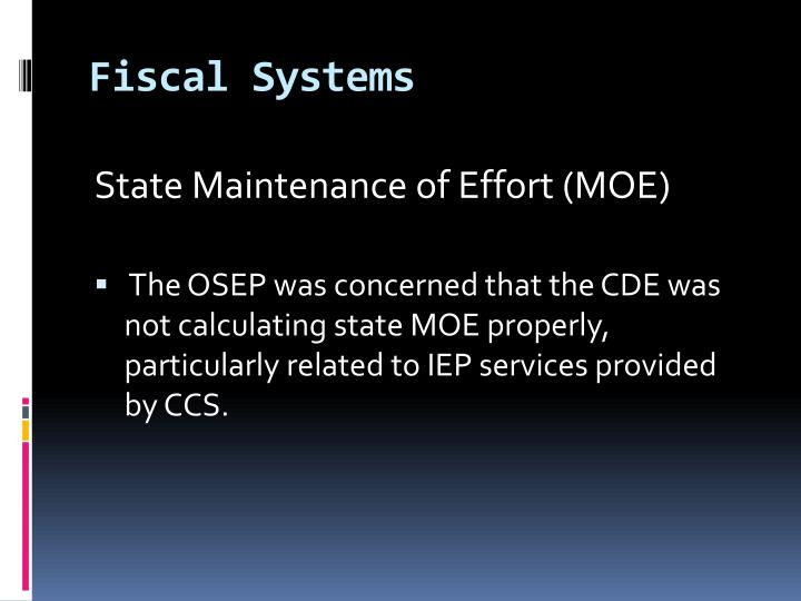 Fiscal Systems