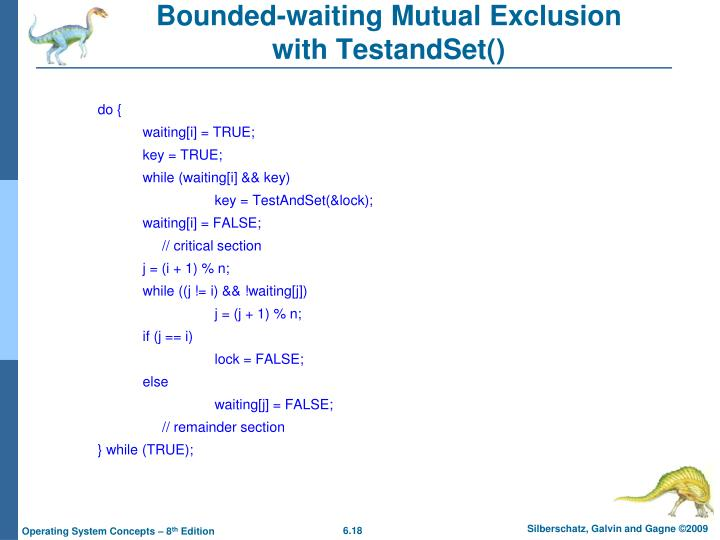 Bounded-waiting Mutual Exclusion