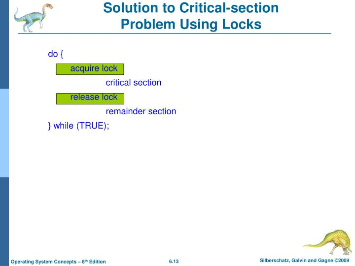 Solution to Critical-section