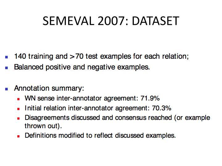 SEMEVAL 2007: DATASET