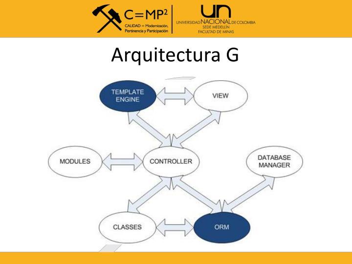 Arquitectura G