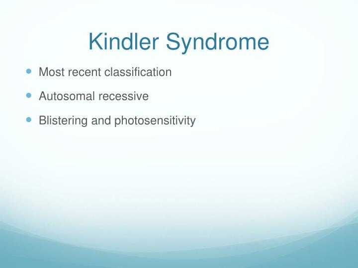 Kindler Syndrome