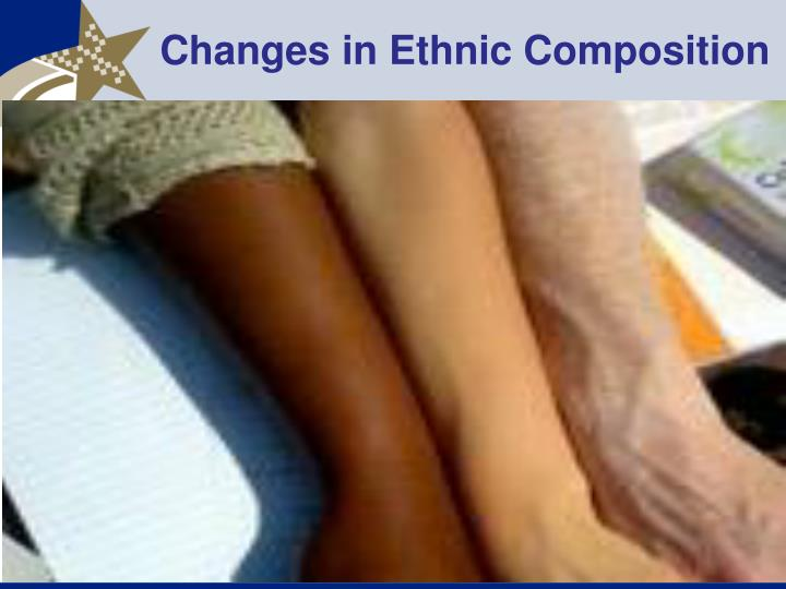 Changes in Ethnic Composition