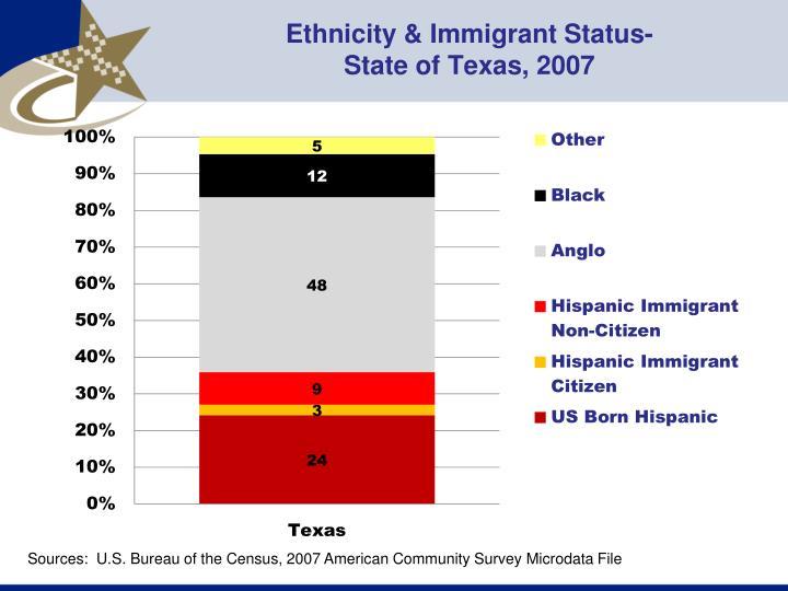 Ethnicity & Immigrant Status-