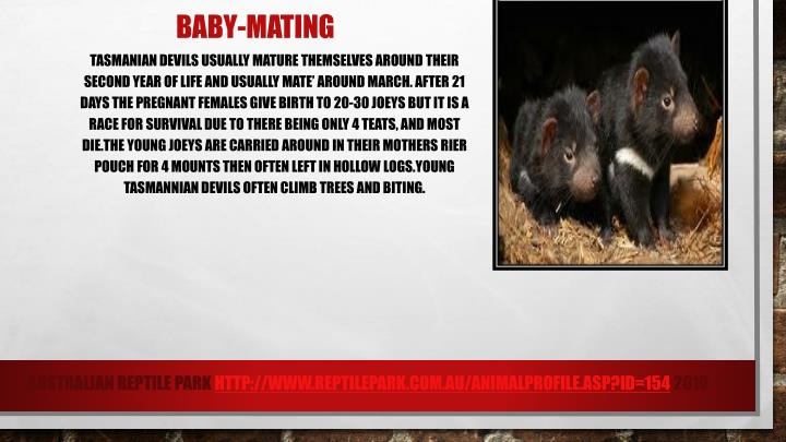 Baby-mating