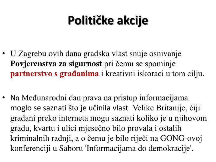 Političke akcije