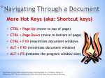 navigating through a document2