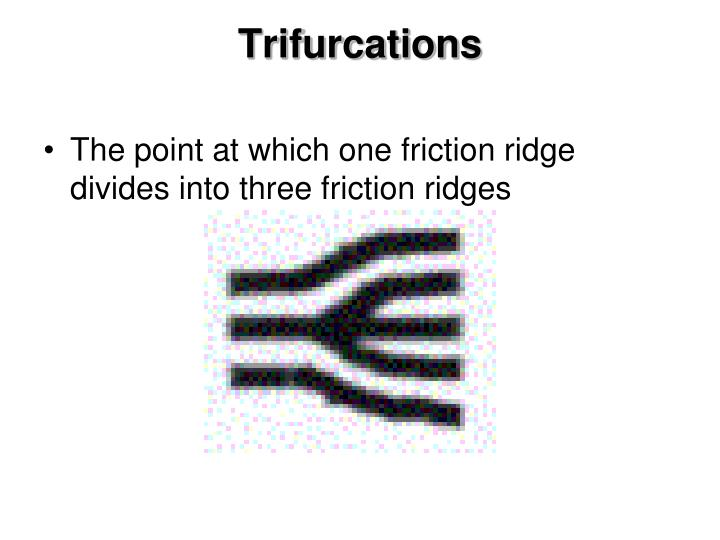 Trifurcations