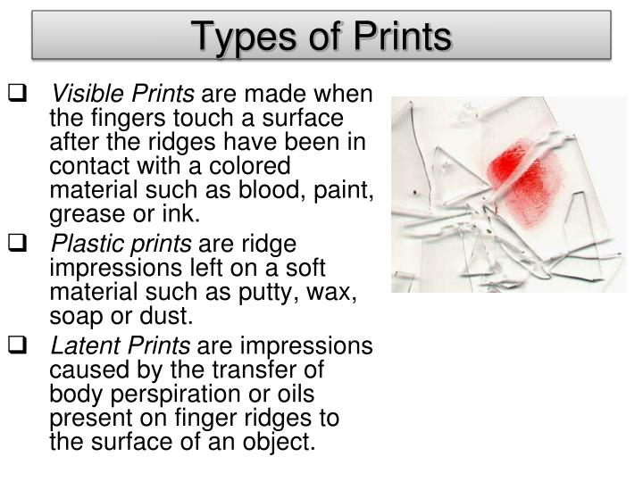 Types of Prints