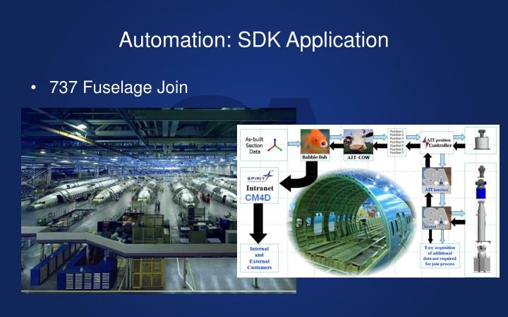 Automation: SDK Application