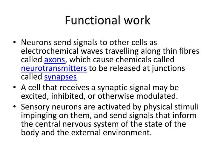 Functional work