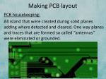 making pcb layout8