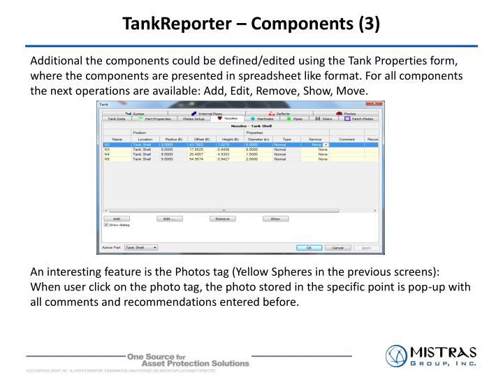 TankReporter – Components (3)
