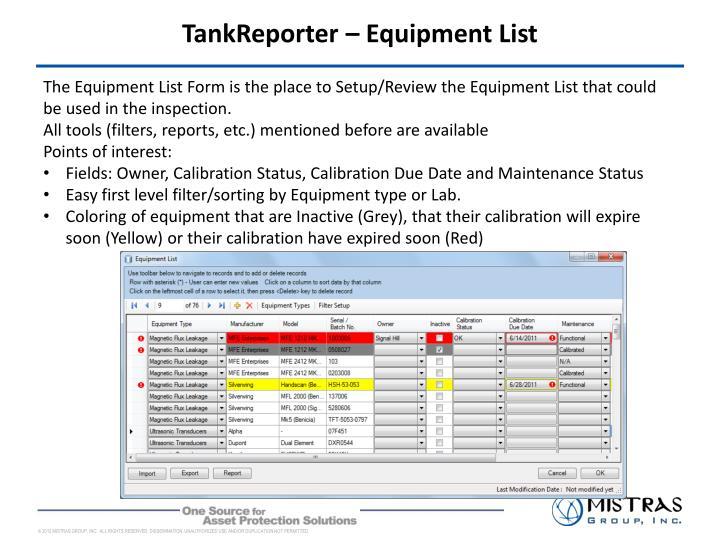 TankReporter