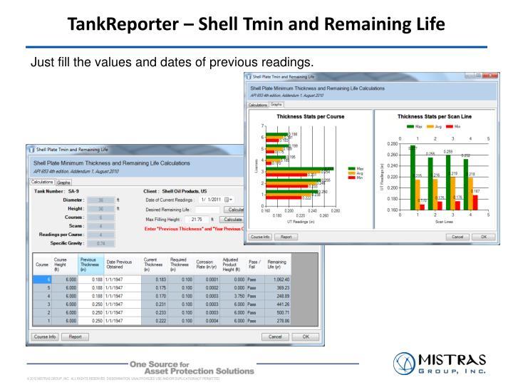 TankReporter – Shell