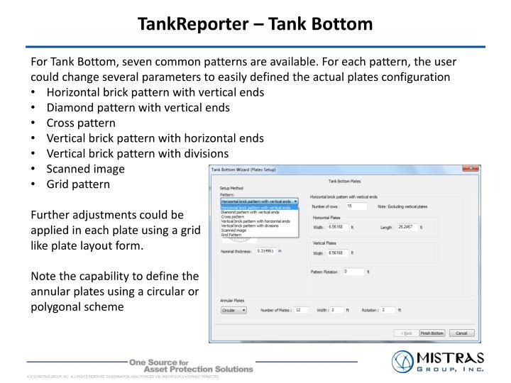 TankReporter – Tank Bottom