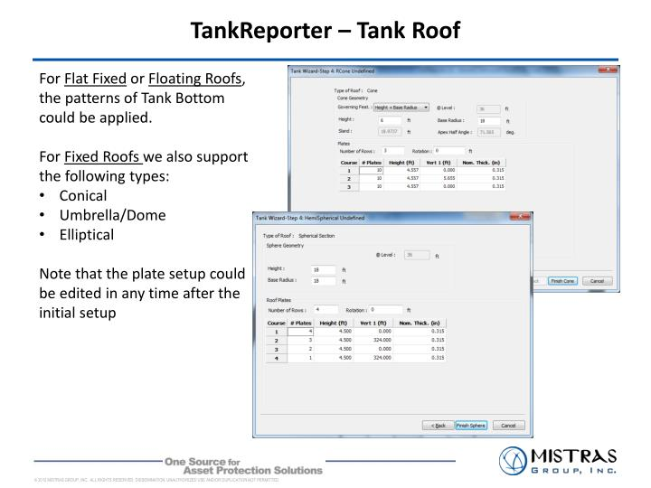 TankReporter – Tank Roof