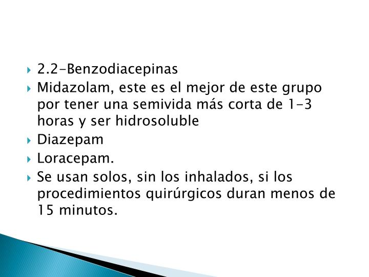 2.2-Benzodiacepinas