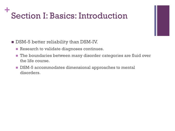 Section I: Basics: Introduction