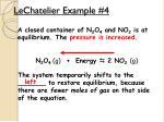 lechatelier example 4