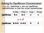 solving for equilibrium concentration4