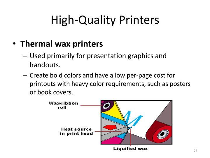High-Quality Printers