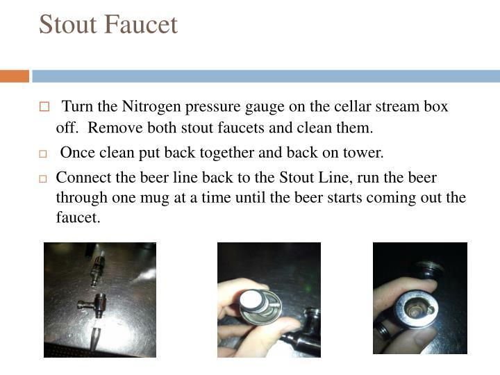 Stout Faucet