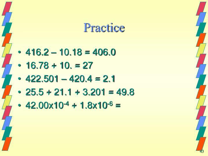 Practice