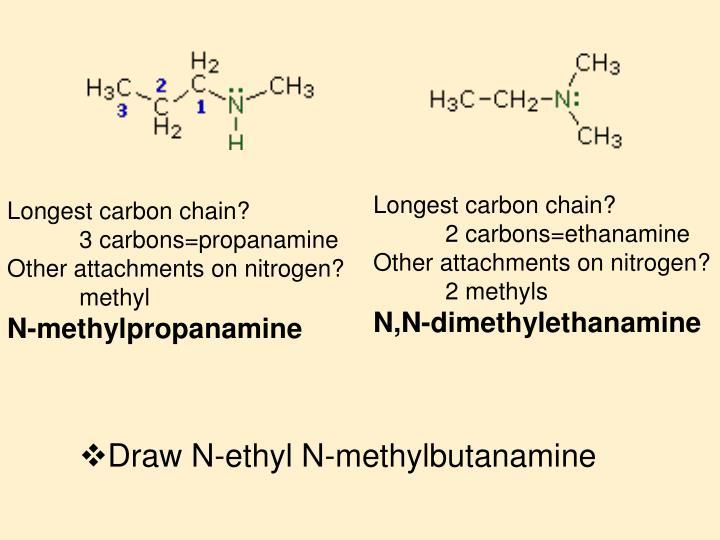 Longest carbon chain?