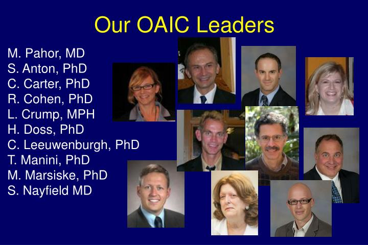 Our OAIC Leaders