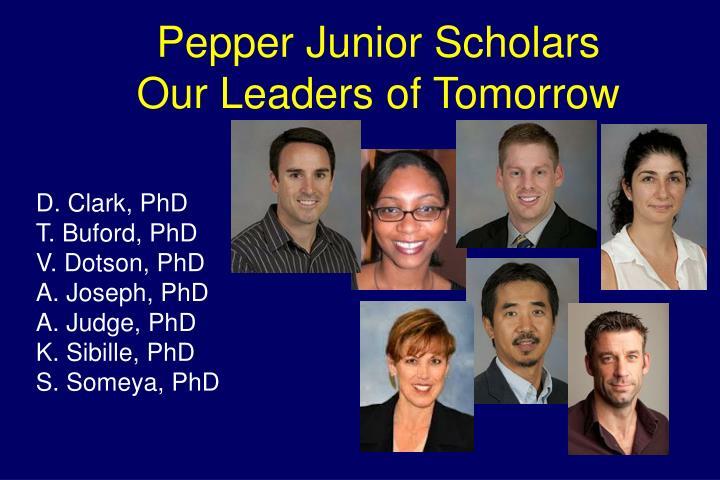 Pepper Junior Scholars