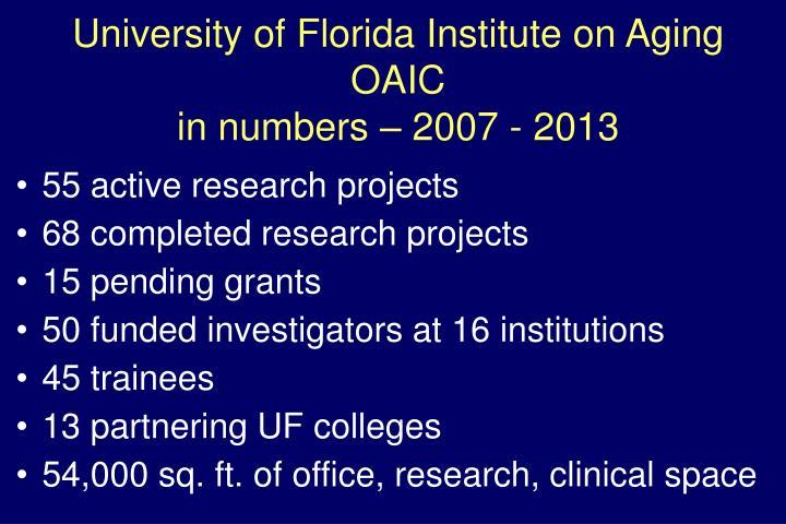 University of Florida Institute