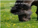 the god of animals1