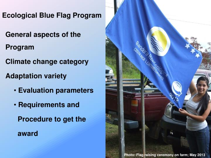 Ecological Blue Flag Program