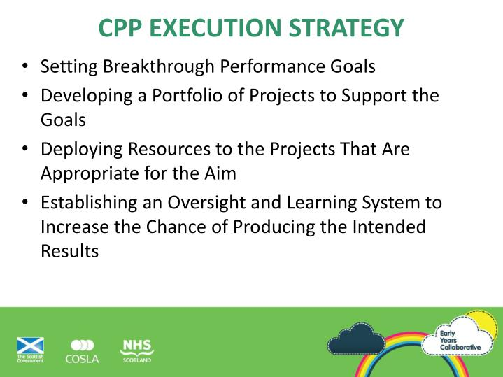 CPP Execution Strategy